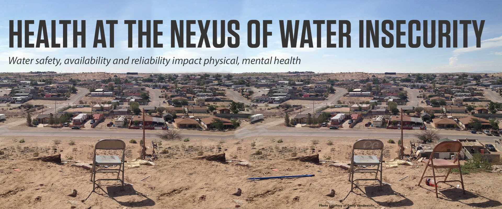 Health at the Nexus of Water Insecurity